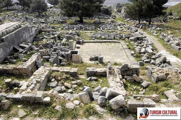 Turcia Priene ruinele prytaneionului