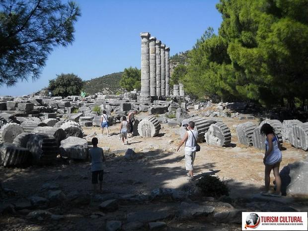 Turcia Priene templul Atenei