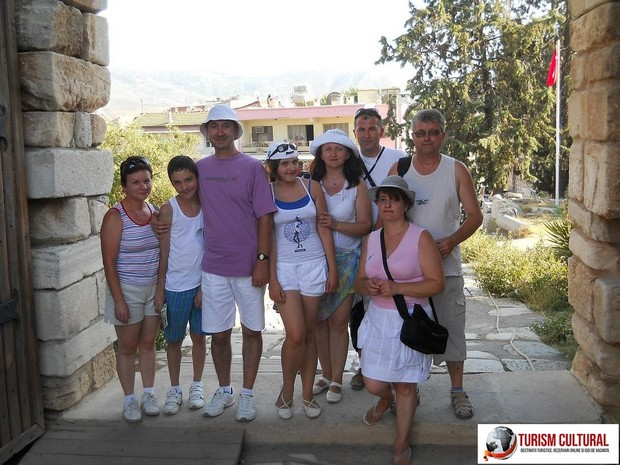 Turcia Selcuk Biserica Sf Ioan grupul nostru
