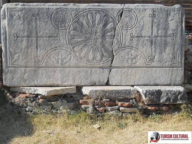 Turcia Selcuk Biserica Sf Ioan placa de marmura