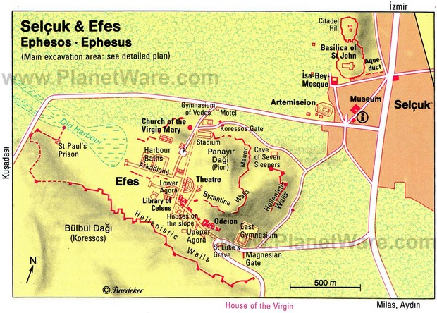 Turcia Efes Selcuk harta obiective turistice