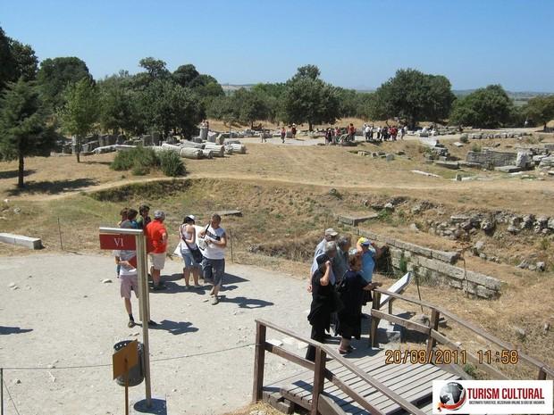 Turcia Troia de aici incepe vizitarea sitului arheologic