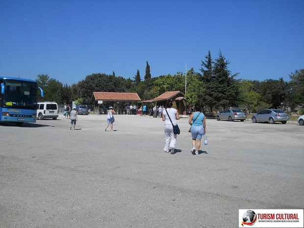 Turcia Troia intrarea in situl arheologic