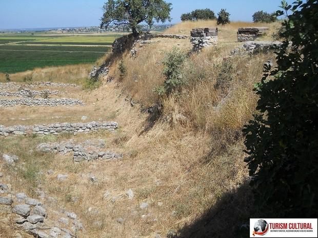 Turcia Troia platoul unde odinioara se afla marea