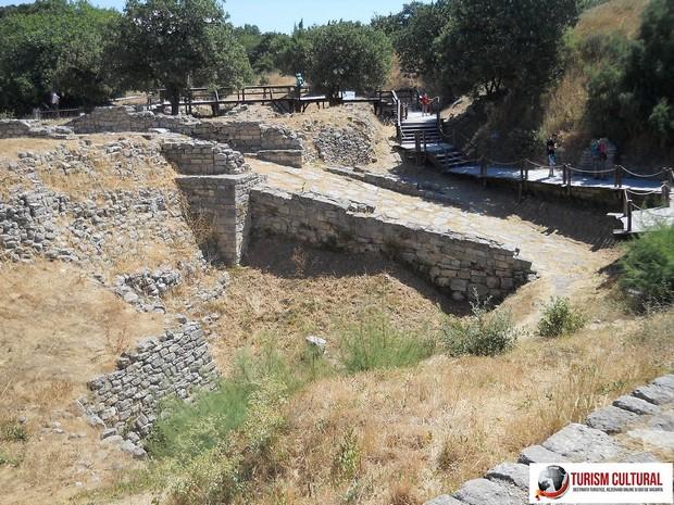 Turcia Troia rampa de intrare in cetate