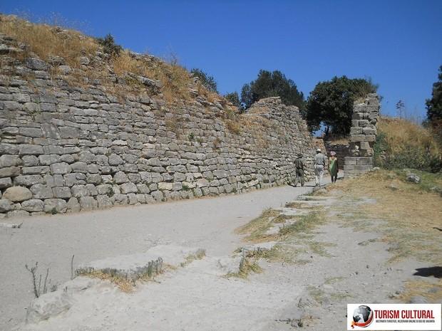 Turcia Troia ziduri exterioare