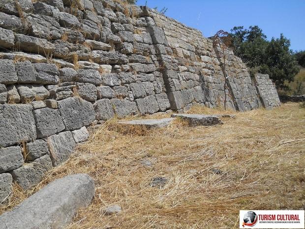 Turcia Troia ziduri exterioare descrise in razboiul troian
