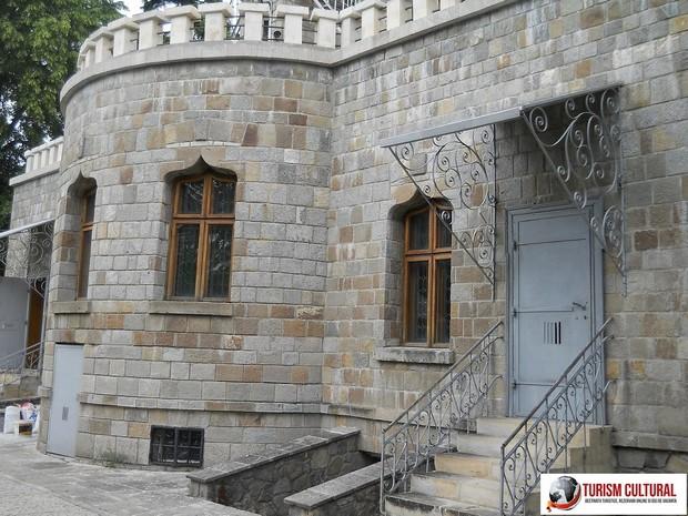 Campina castelul Iulia Hasdeu in spate