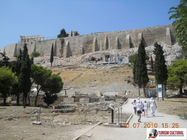 Grecia Atena acropole intrare