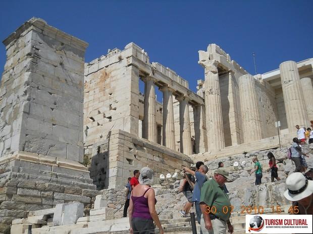Grecia Atena acropole Propilee