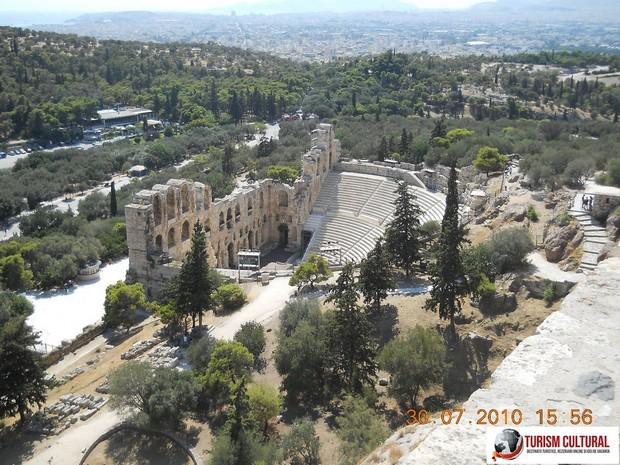 Grecia Atena Odeonul lui Herodes Atticus
