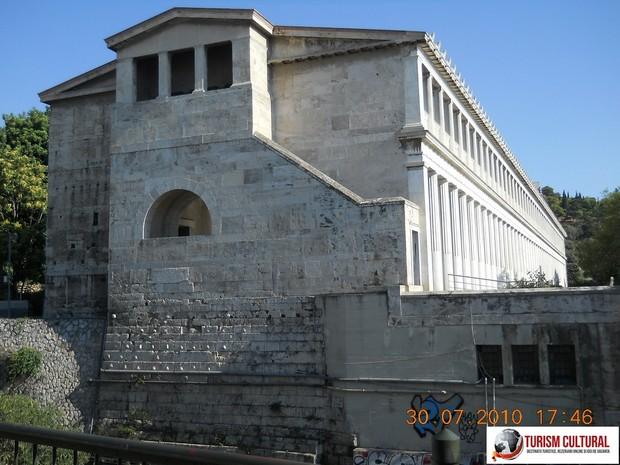 Grecia Atena Stoa lui Attalus spate