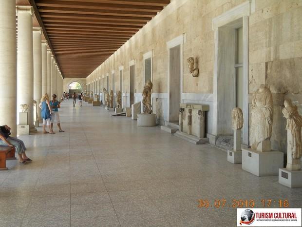 Grecia Atena Stoa lui Attalus