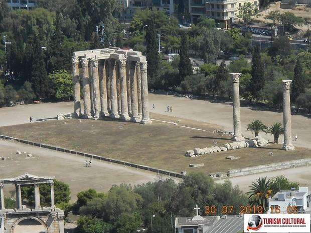 Grecia Atena Templul lui Zeus