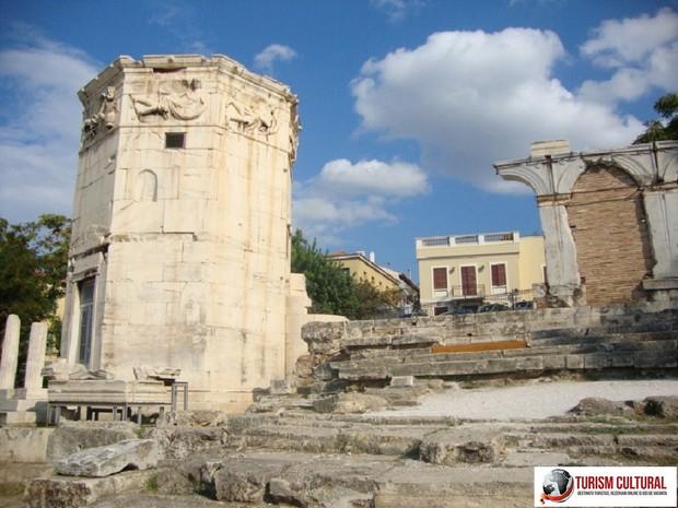 Grecia Atena Agora Turnul Vanturilor