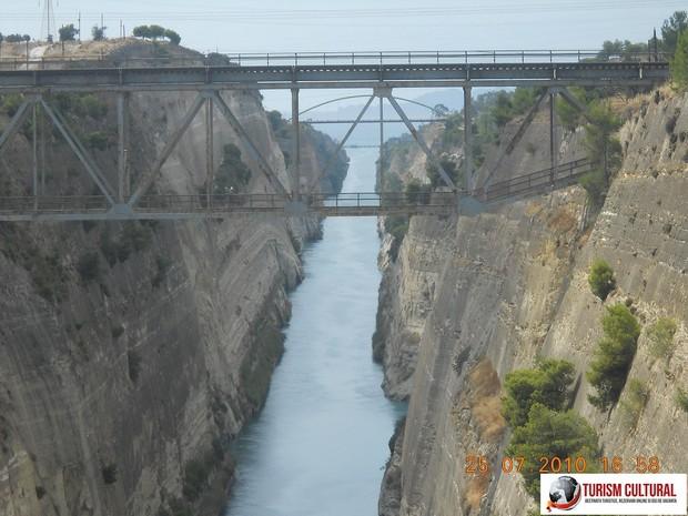 Grecia Canalul Corint partea estica