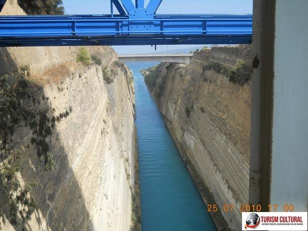 Grecia Canalul Corint partea vestica