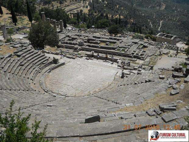 Grecia Delphi amfiteatrul