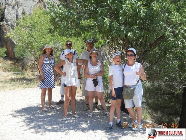Grecia Delphi grupul nostru