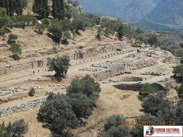 Grecia Delphi gymnasium