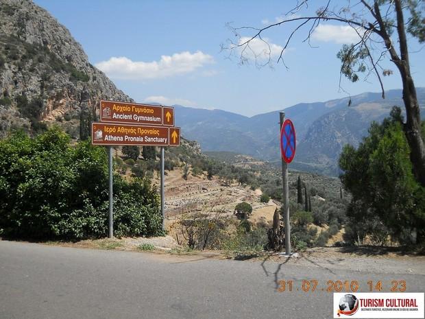 Grecia Delphi indicatoare
