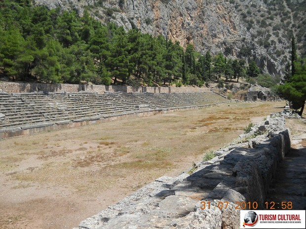 Grecia Delphi stadionul