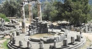 Grecia Delphi templul Atenei