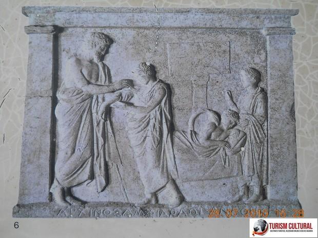 Grecia Epidaur friza din abaton