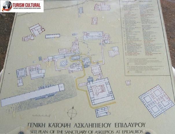 Grecia Epidaur harta