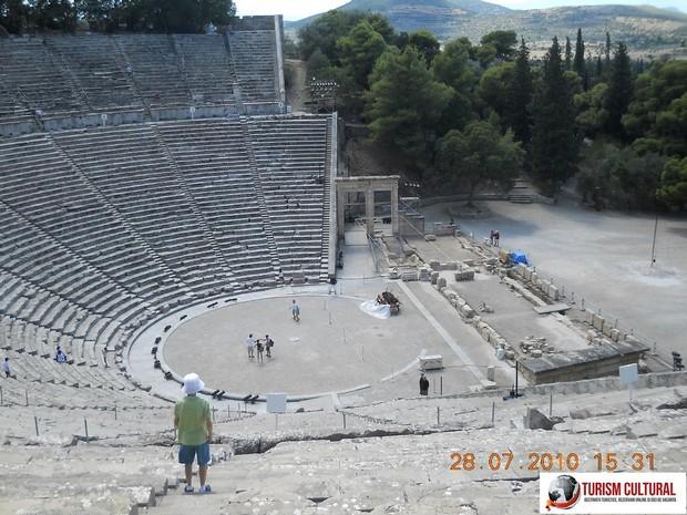 Grecia Epidaur teatrul si Andrei