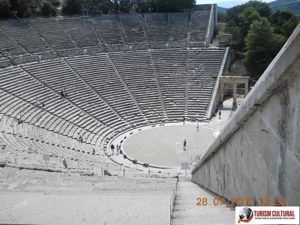 Grecia Epidaur teatrul