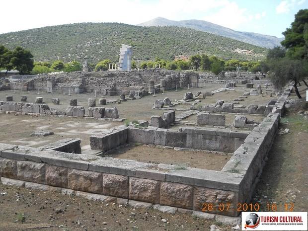 Grecia Epidaur templul lui Asclepios