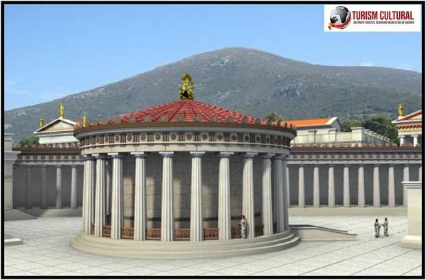 Grecia Epidaur tholos reconstituire