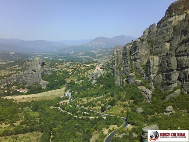 Grecia drumul spre Meteora
