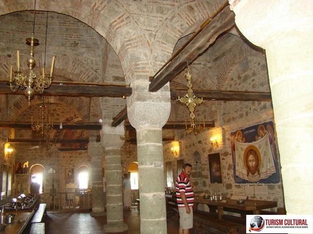 Grecia Meteora manastirea Marele Meteor interior biserica