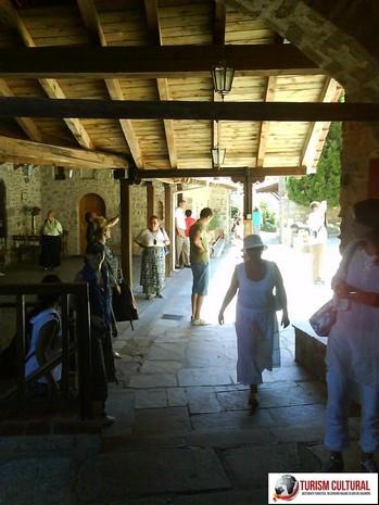 Grecia Meteora manastirea Marele Meteor interior
