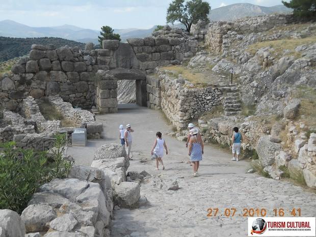 Grecia Micene iesirea din cetate