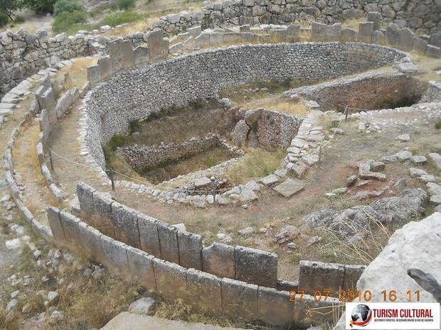 Grecia Micene incinta circulara