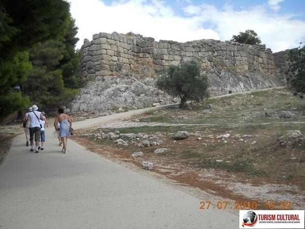 Grecia Micene panta de la intrare