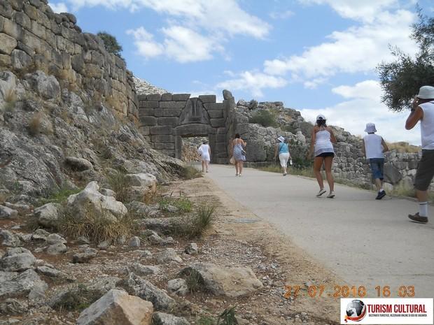 Grecia Micene intrarea in cetate