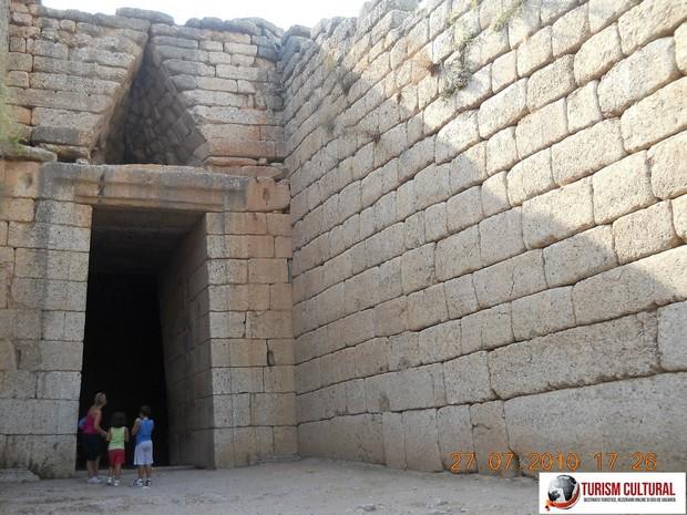 Grecia Micene mormantul lui Agamemnon