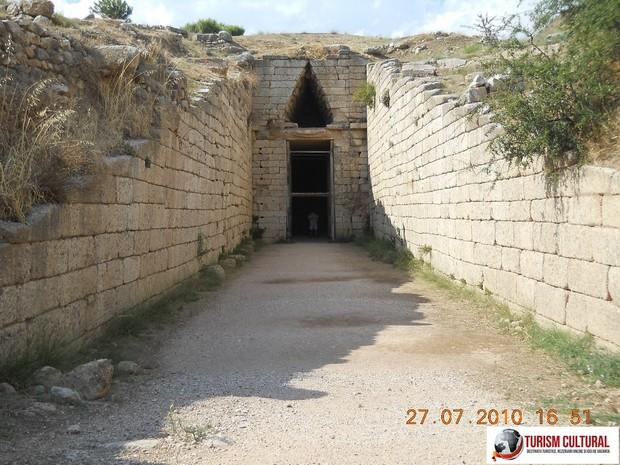Grecia Micene mormantul Clitemnestrei