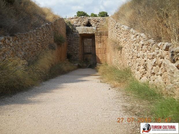 Grecia Micene mormantul lui Egist