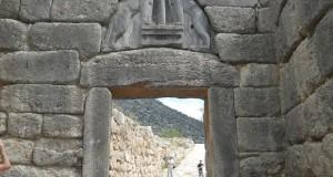 Grecia Micene Poarta Leilor (vedere din fata)