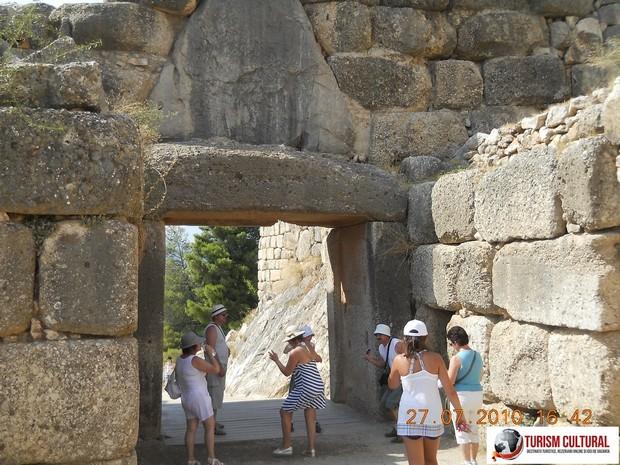 Grecia Micene în spatele Portii Leilor