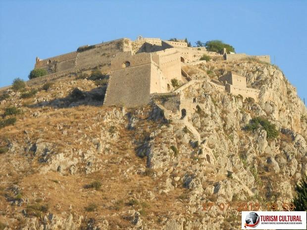 Grecia Nafplio cetatea Palamidi (construita de venetieni)