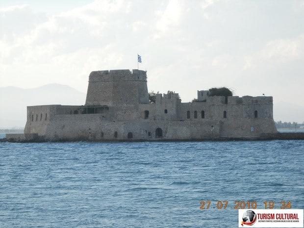 Grecia Nafplio fortareata Bourdzi