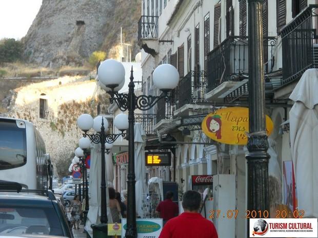 Grecia Nafplio strada cu magazine