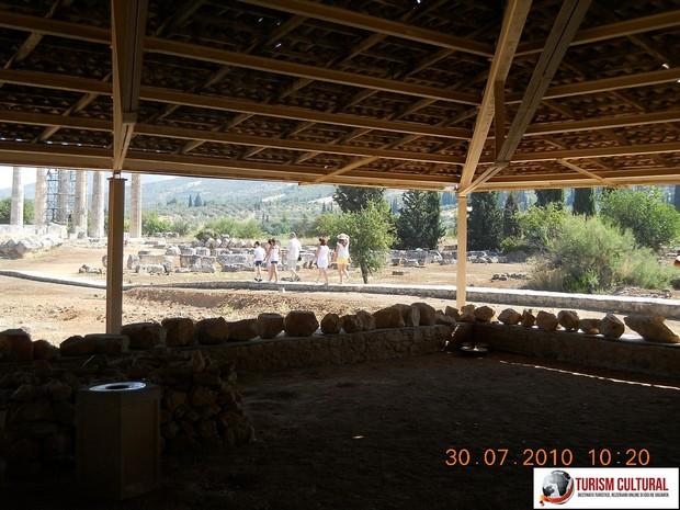 Grecia Nemea acoperisul bailor