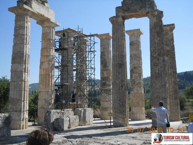Grecia Nemea Templul lui Zeus